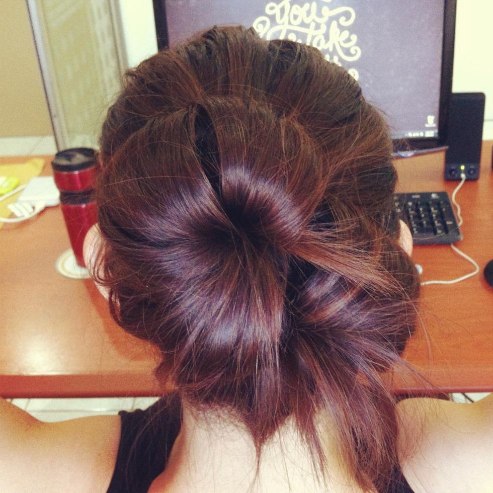 Big Bun for Medium Length Hair